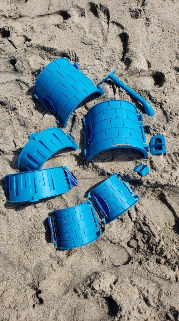 create a castle sand castle kit